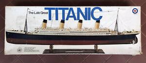 Entex 1:350 Titanic - plastic model kit