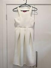 Boohoo White Balloon Dress Size 12 BNWT