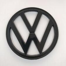 """ VW "" EMBLEM BAYWINDOW FRONT 1972-1979 182mm BLACK  Bay VOLKSWAGEN Kombi BUS"