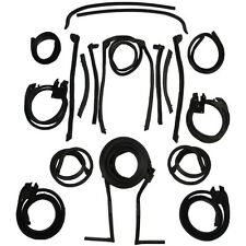 1966-1967 Lincoln Continental 4dr Convertible Body Weatherstrip Seal Kit