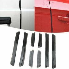 8 pcs Set Car Door Side Edge Bumper Guard Rubber Protector Anti Collision Strip