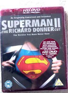 76118 HD DVD - Superman II The Richard Donner Cut [NEW / SEALED]  2000  HD81012