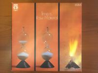 """RAW MATERIAL """"TIME IS...""""FIRST PRESS UK NEON,IMPOSSIBLE TO FIND GREAT COPY LP"""