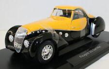 Voitures, camions et fourgons miniatures noirs Coupe en métal blanc