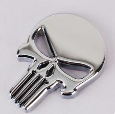 For THE Punisher 3D Skull Skeleton Car Motorcycle body Badge Emblem Sticker Deca