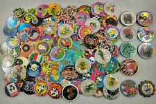 Assorted Variety 1 Slammer 8 Ball Poison Sports Milkcaps Lot of 50 Pogs