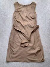 Ladies Monsoon Suede Effect Dress Size 14