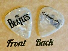 New ListingBeatles - The Beatles Band Logo John Lennon signature guitar pick -(W-B13)