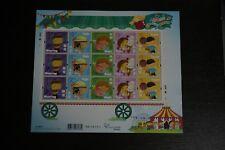 2017 China Hong Kong Children Stamps – The Five Senses Stamp Miniature Sheet MNH