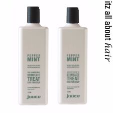 Juuce Peppermint Shampoo and Conditioner 375ml Duo
