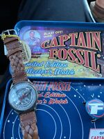 Fossil Limited edition CAPTAIN FOSSIL Rocket Watch Mint Cond Never Worn LE-9432