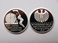Deutschland 2009 10 Euro Keplersche Gesetze Spiegelglanz/ PP (MD445