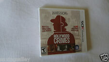 BRAND NEW Sealed James Noir's Hollywood Crimes (Nintendo 3DS, 2011)
