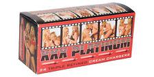 72 Whip Cream Chargers N20 European Nitrous Oxide whipped N2O 3x24 XXX