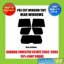 SUBARU FORESTER ESTATE 2002-2005 35% LIGHT REAR PRE CUT WINDOW TINT