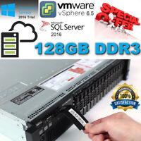 Dell PowerEdge R720 Xeon E5-2640 128GB DDR3 4x 600GB 10K SAS H710P Turbo 3.00Ghz