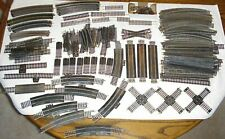 235 Huge Lot Train Tracks Straights Curves Crossing Switches Terminal Rerailer