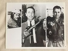 RARE VINTAGE NASA ASTRONAUTS: Chuck Yeager and Others in NBC Rocket Pilots Photo