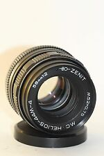 HELIOS 44M-4 2/58mm Soviet SLR Lens Pentax Zenit M42 + Adapter for Nikon N123556