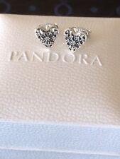 Pandora Hearts Of Winter Stud Earrings