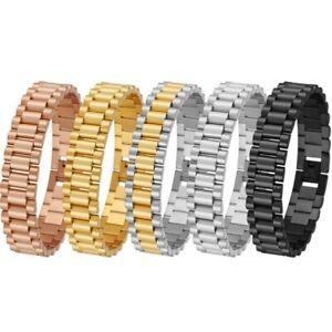 Armband 316L Edelstahl Luxus Herren Gliederkette Armbänder Kette Modern Schmuck