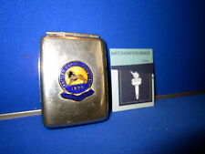 BRITISH EMPIRE EXHIBITION 1924 ENAMEL PLAQUE MATCH HOLDER VESTA CASE STRIKER