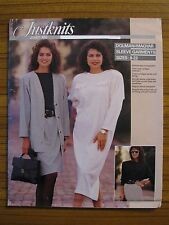 JUSTKNITS PATTERN - JUST ME LADIES DRESS JACKET DOLMAN MAGYAR SIZE 8-22 UNCUT