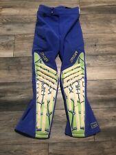 Vintage Spyder Stretch Ski Snowboard Green Spider Web  Pants Back Insulate 30R