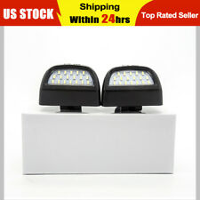 For 99-13 Chevy Silverado Avalanche BRIGHT SMD LED License Plate Lights Lamp SET