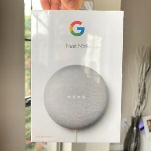 Google Nest Mini 2nd Generation GA00638-US + Google Assistant • Ships Today!