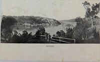 .EARLY 1900'S MOSMAN, SYDNEY, NSW POSTCARD.