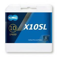 NEW KMC X10SL Bike Chain MTB Road 10 Speed 116L Gold Titanium Shimano Sram