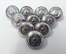 More details for genuine british service uniform dress chrome buttons 38l - new