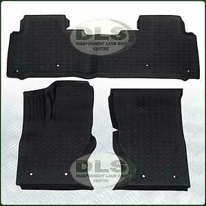 Rubber Floor Mat Set LHD BRITPART Land Rover Discovery 5 (DA4859)