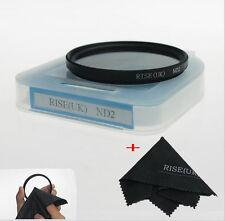 Filtre à densité neutre ND2 58mm Canon Nikon Pentax Sony