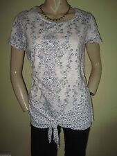 Fat Face Hip Length Cotton Floral Tops & Shirts for Women