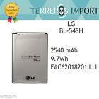 Bateria LG BL-54SH G3S BELLO L80 L90 Capacidad Original 2540 mAh