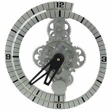 UNUSUAL COGS MOVING GEAR WALL/STAND CLOCK GCL06-37