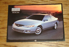 Original 1999 Toyota Camry Solara Postcard 99