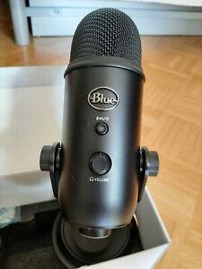 Blue Yeti USB Mikrofon - wie neu! - Farbe schwarz