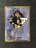 1994-95 LEAF BOURQUE/LEETCH GOLD STARS #ed 7799/10000