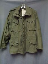 "Vintage 1976 Military Field Jacket DSA100 Small Regular ""Scovill Zipper"""