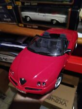 Automodello MODELLINO MAISTO Alfa Romeo spider 1:18 Maisto