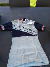 Maillot cyclisme Vélo Club Jacques anquetil vintage années 70 old collector nos