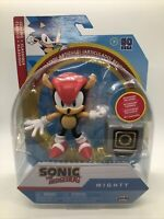 Jakks Pacific Sonic the hedgehog Mighty Action figure 4 inch articulated box not
