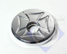 Tankdeckel Alu - Cross - Suzuki M/VZR 1800 Intruder - poliert
