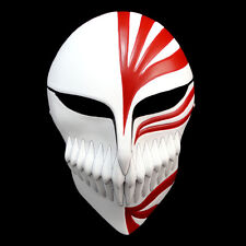 Anime Bleach Ichigo Kurosaki Cosplay Full Hollow Halloween Mask Resin Masks Red