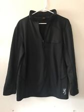 Mens Browning Pullover Jacket Sz Mmedium 1/4 Zip