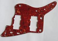 Vintage Tortoise Guitar Pickguard Scratch Plate for American Fender Jazzmaster