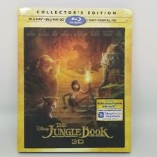 Disney The Junglebook 3D Live Action Blu-ray - RARE OOP - Lenticular Slipcover